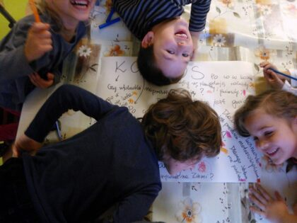 Słoneczna Słoneczna Szkoła Podstawowa - projekt badawczy 'Kosmos'