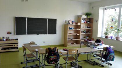 Słoneczna Szkoła Podstawowa - sala nr 9