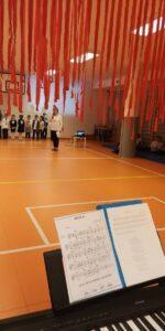 Słoneczna Szkoła Podstawowa - obchody Święta Niepodległości
