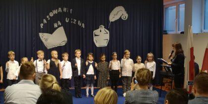 Słoneczna Szkoła Podstawowa - pasowanie klasy 1