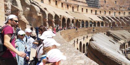 Słoneczna Szkoła Podstawowa - wycieczka do Rzymu